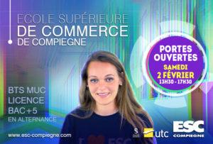 Portes-Ouvertes ESC Compiègne @ ESC Compiègne, centre de transfert de l'UTC   Compiègne   Hauts-de-France   France