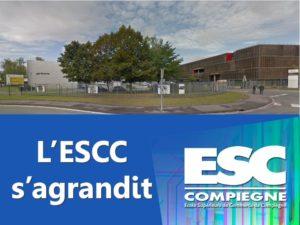 L'ESC Compiègne déménage
