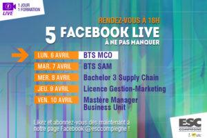 Facebook Live spécial BTS MCO
