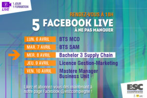 Facebook Live spécial Bachelor 3 Supply Chain