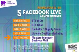 Facebook Live spécial Mastère